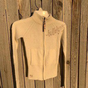 Billabong zip up sweater long sleeve size jr xs